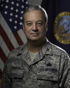 Acting Idaho Governor Brigadier General Bill Shawver