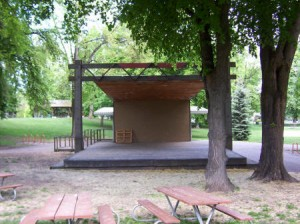 East City Park Stage
