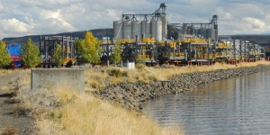Exxon-Mobil Megaloads at Port of Lewiston